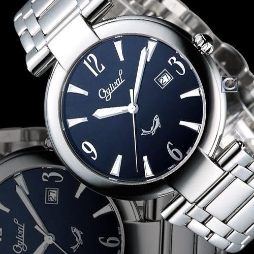 Ogival 愛其華時尚演繹薄型腕錶 3862MS