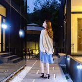 登威達太陽能戶外庭院燈鄉村圍墻室內外人體感應家用防水壁燈路燈 英雄聯盟
