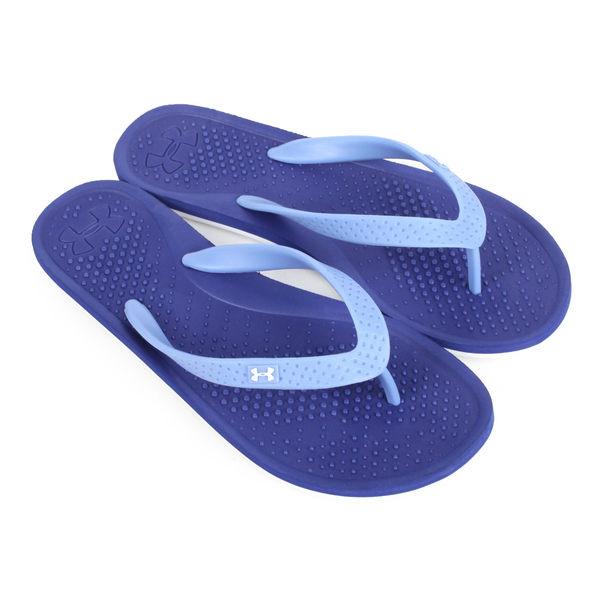 UNDER ARMOUR SANDAL 女運動拖鞋-沙灘 戲水 游泳 人字拖