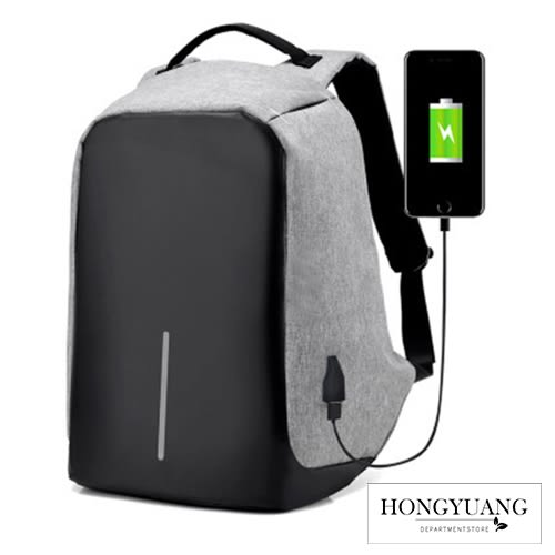超大容量 筆電背包 防盜雙肩背包 可USB充電 防水 隱藏拉鍊 防盜後背包 運動背包【Z90213】