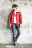 BrightDay風雨衣外套 - 日系印花外套款