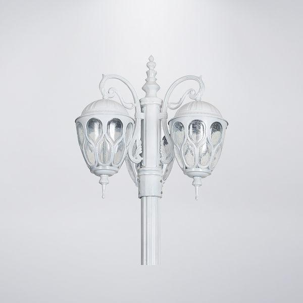 鳥巢戶外庭園燈 三燈防水型 黑白兩色 可客製化 可搭配LED