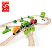 【德國Hape愛傑卡】軌道系列-森林組合