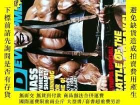 二手書博民逛書店MD罕見MUSCULAR DEVELOPMENT 2007 10 健身雜誌 外文原版時尚雜誌 男子健美健身雜誌