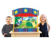 桌上型手偶架 M&D兒童幼兒教具傢俱設備 情境社會扮演家家酒 高級木製家具 收納整理櫃