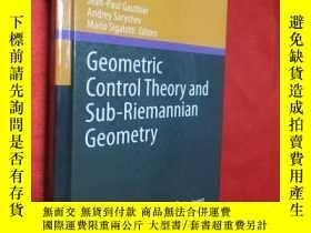 二手書博民逛書店Geometric罕見Control Theory and Su