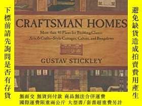 二手書博民逛書店Craftsman罕見Homes: More Than 40 P