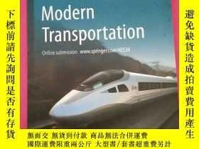 二手書博民逛書店Journal罕見of Modern Transportation(現代交通學)Y332451 Spring
