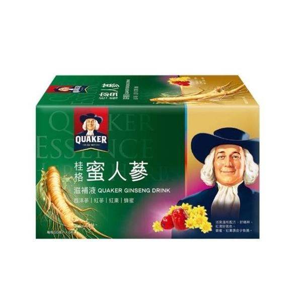 桂格養氣蜜人蔘盒裝 6瓶