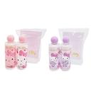 【Hello Kitty】沐浴旅行2件組 蘋果洋甘菊香味 粉色 紫色 90ml