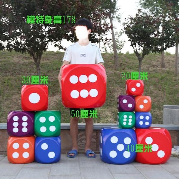 泡沫骰子大號色子教具