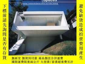 二手書博民逛書店Minimalist罕見Spaces: Commercial a
