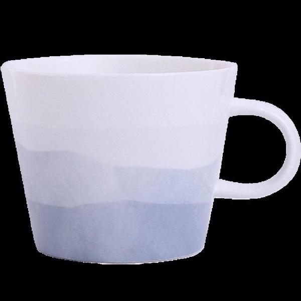 ins北歐簡約馬克杯帶蓋勺陶瓷水杯子女男牛奶燕麥片早餐杯微波爐 時尚芭莎