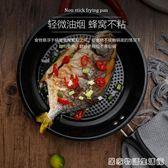 不銹鋼煎鍋平底鍋不粘鍋牛排煎鍋煎餅鍋煎蛋鍋電磁爐燃氣爐通用  居家物語