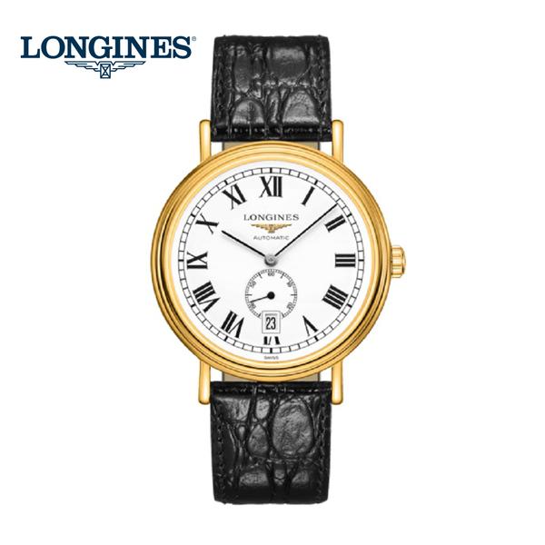 LONGINES浪琴 Presence 小秒針嚴選機械錶-40mm L49052112