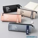 文具盒 三角大容量筆袋韓版收納袋文具袋 ins少女心日系學生鉛筆盒文具盒 快速出貨
