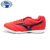 MIZUNO MRL SALA CLUB IN 寬楦 成人足球平底鞋 足球鞋紅黑 Q1GA200360 21SS