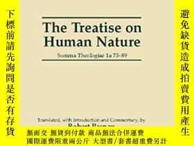 二手書博民逛書店Treatise罕見On Human Nature-人性論Y436638 Saint Thomas Aquin
