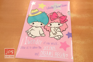 Little Twin Stars 雙子星 A4 亮銀L夾 資料夾 插畫風 粉 823586