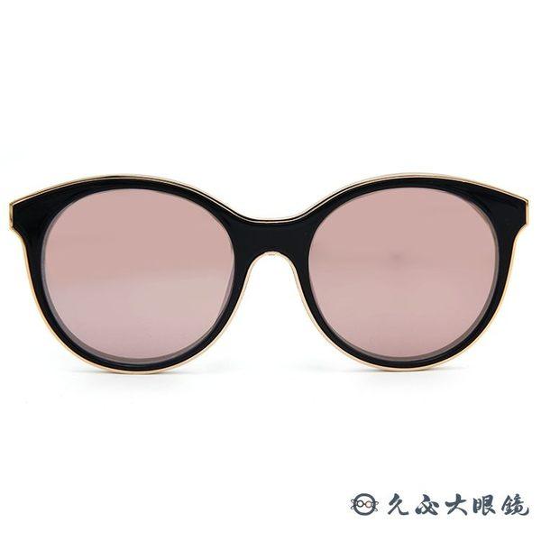Ed Hardy 太陽眼鏡 鈦 貓眼 墨鏡 EH1044 BLACK I 黑玫瑰金 眼鏡推薦 久必大眼鏡