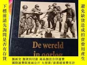 二手書博民逛書店DE罕見WERELD VAN EEUW TOT EEUW DE WERELD IN OORLOG 1940-195