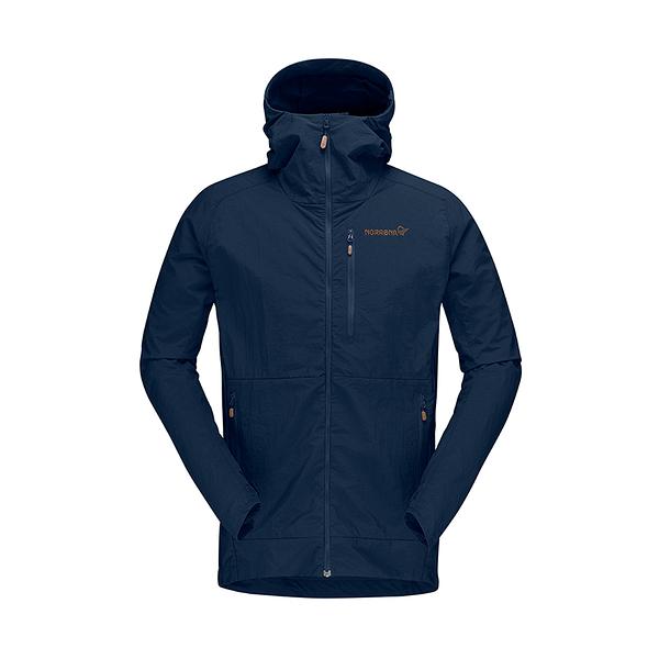 Norrona 老人頭 Svalbard Lightweight 外套 男 靛青藍