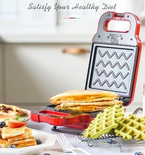 三明治機早餐機華夫餅面包機輕食機多功能吐司壓烤機三文治機CY『小淇嚴選』
