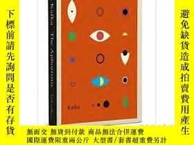 二手書博民逛書店The罕見Schocken Kafka Library: Aphorisms 英文原版 卡夫卡:格言集Y210