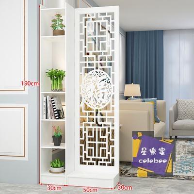 屏風 現代中式簡約家具時尚屏風隔斷客廳臥室餐廳鏤空花座屏玄關隔斷櫃T