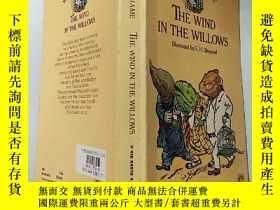 二手書博民逛書店the罕見wind in the willows 柳樹 上 的 風,Y200392