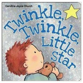 【麥克書店】TWINKLE TWINKLE LITTLE STAR/ 硬頁書 (Caroline Jayne Church 歌謠系列)