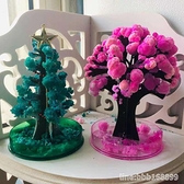結晶樹 魔法聖誕結晶樹 懷舊小時候紙上開花科學實驗 兒童神奇日本櫻花樹 星河光年