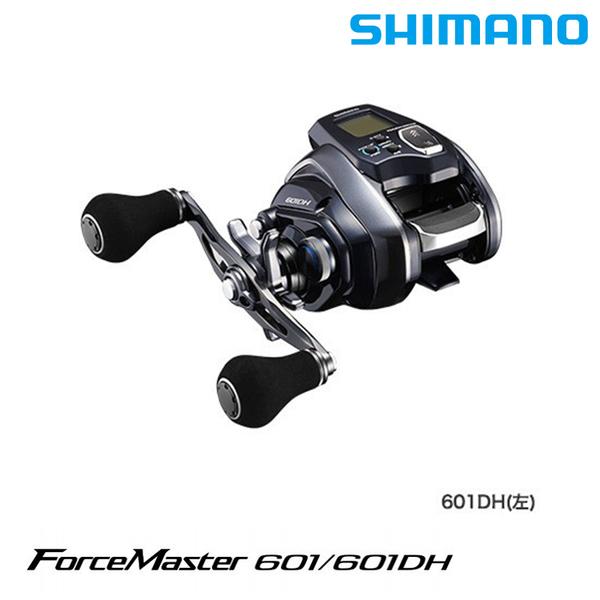[送1000元折價券] 漁拓釣具 SHIMANO 20 FORCE MASTER 601DH [電動捲線器]