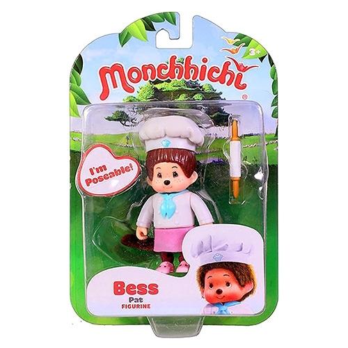 《 Monchhichi 夢奇奇 》人偶公仔 - 烘培師 Bess╭★ JOYBUS玩具百貨