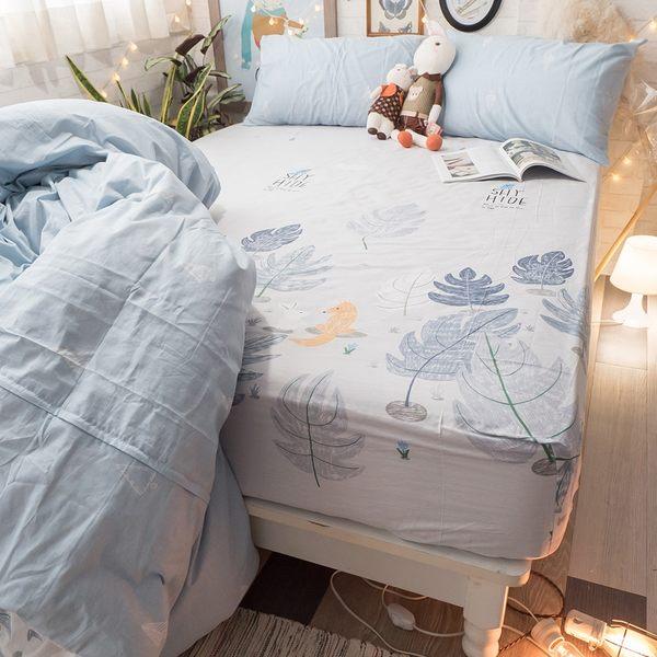 白兔狐狸二次見面 A3枕套乙個 100%復古純棉 極日風 台灣製造 棉床本舖