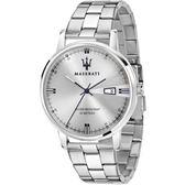 ★MASERATI WATCH★-瑪莎拉蒂手錶-ELEGANZA系列-不銹鋼帶-R8853130001-錶現精品公司-原廠正貨-鏡面保固一年