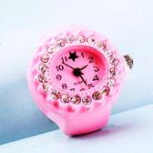 簡易悠閒男士女款戒指表/情侶手錶禮物/韓版迷你精致飾品 小宅女大購物
