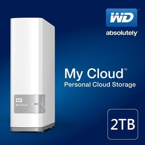 WD My Cloud 2TB USB3.0 3.5吋雲端儲存系統