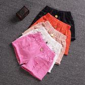 夏款女童牛仔短褲中大童韓版三分褲女孩子短褲2-4-6-10歲薄款 【快速出貨八折免運】