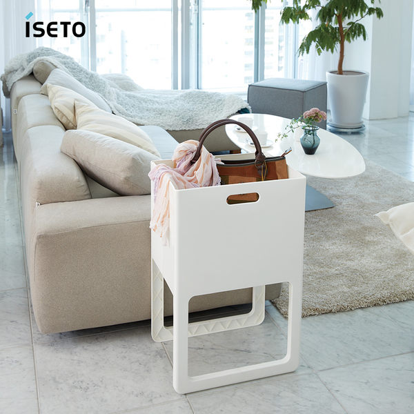 【nicegoods】日本ISETO ACOT折疊式桌邊萬用籃