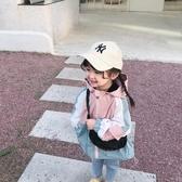 兒童沖鋒衣女童加厚棉衣寶寶秋裝防風加絨外套小女孩洋氣秋季風衣 雙十二全館免運