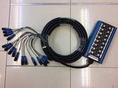 【金聲樂器】CONTECH MULTICABLE 舞台訊號線 多軌訊號盒 16軌 20米 金頭 高品質