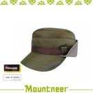 【Mountneer 山林 中性 3M鋪棉耳罩軍帽《棕》】12H02/內刷毛/防風/透氣