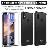 Imak 小米Max 3 手機殼 四角氣囊防摔 小米 Max 3 Max3 空壓殼 保護殼 軟殼 透明 手機套 送保護貼