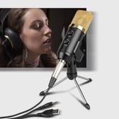麥克風 電容麥克風BM700USB混響麥克風FL100電腦錄音網絡K歌電容麥克風 新年禮物