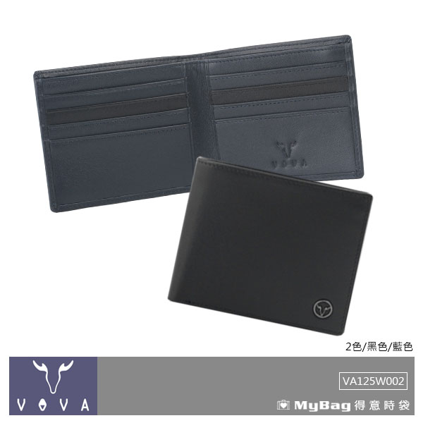 VOVA 沃汎 皮夾 艾登系列 8卡內拉鍊短夾 VA125W002 得意時袋