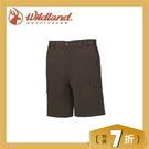 【Wildland 荒野 男 彈性透氣抗UV短褲《松葉灰》】0A61352-100/抗UV/透氣/耐磨/輕薄/休閒褲