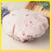 【新年鉅惠】 浴帽防水雙層加厚成人女款可愛淋浴洗澡頭套廚房帽炒菜防油煙帽