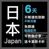 現貨 日本 境內 通用 6天 Softbank電信 4G不降速 免設定 免開卡 隨插即用 上網 上網卡 網路 網路卡