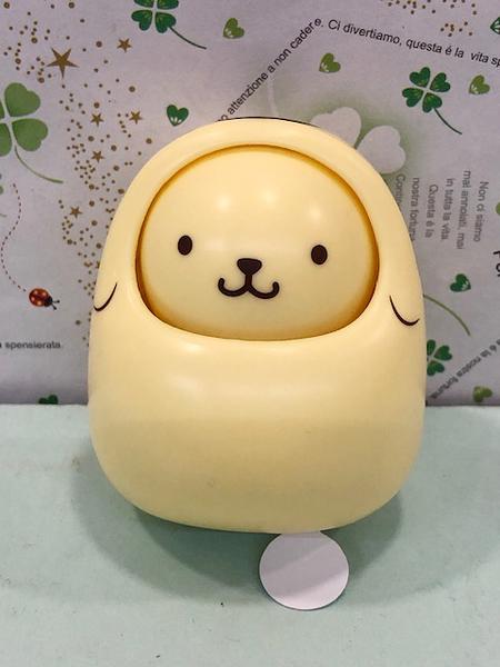 【震撼精品百貨】Pom Pom Purin 布丁狗~Sanrio桌上不倒翁#22806